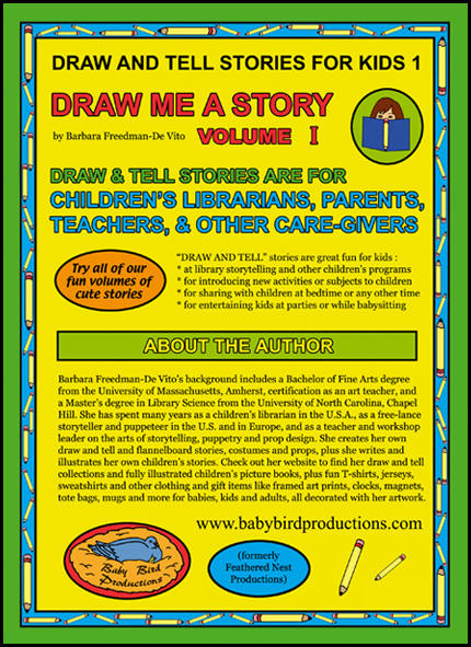 Draw and tell stories for kids